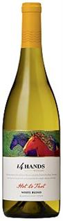 14 Hands Vineyards Hot To Trot White Blend 2013 750ml